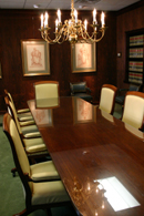 Supreme Court conference room