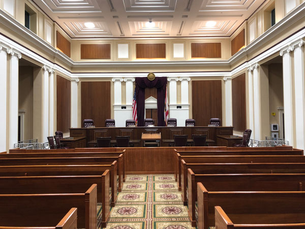 Florida Supreme Court Courtroom