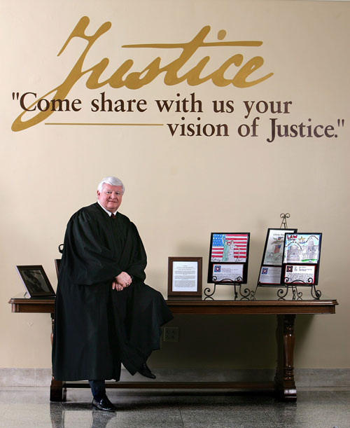 Justice R. Fred Lewis at the time he was Chief Justice from 2006 to 2008.